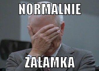 Image result for załamka mem