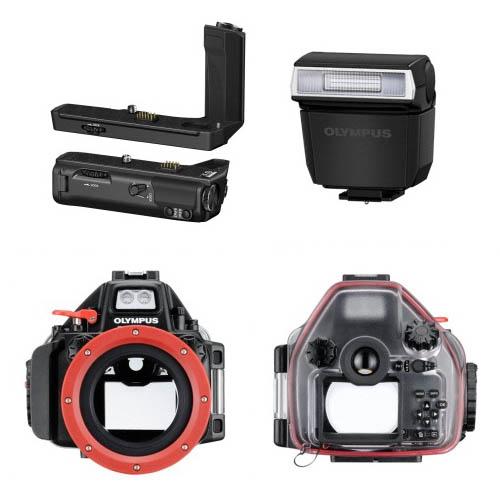 Nazwa:  New-Olympus-E-M5II-accessories.jpg Wyświetleń: 539 Rozmiar:  32,8 KB